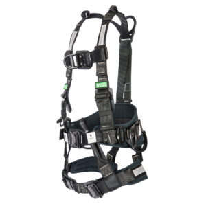 The Gravity Utility Harness is a versatile full-body harness that can be used in a diverse number of applications like Confined Space, Rescue, Transmission Tower, Telecom Tower, Rope Access, and many others. This harness is suitable for electrical environments and is also tested for arc flash, meeting all requirements of the ASTM F887 standard.